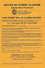 Street Closure Notice