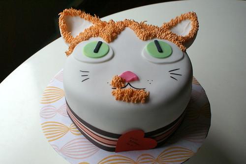 Harold The Cat Cake!!