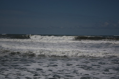 Waves at Half Moon Bay