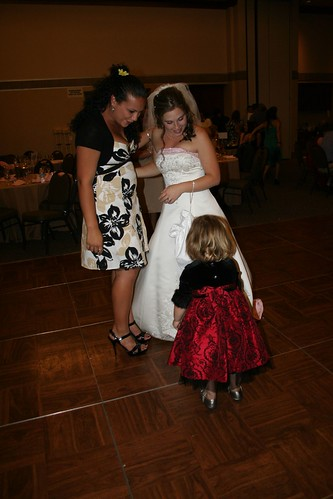 she was in awe of the bride