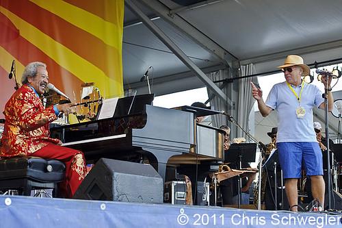 Allen Toussaint - 05-07-11 - New Orleans Jazz & Heritage Festival, New Orleans, LA