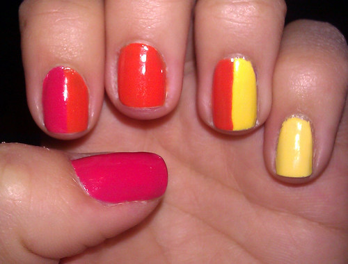 Color Block Mani