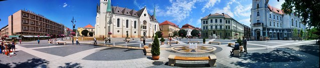Kaposvár Kossuth tér 2003