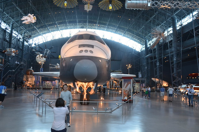 Steven F. Udvar-Hazy Center: Space Shuttle Enterprise