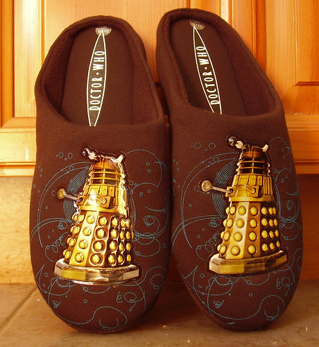 Pair Of Dalek Slippers