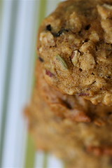 Pumpkin, Seed, and Nut Cookies top