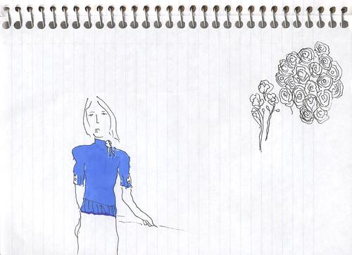 left-handed sketch