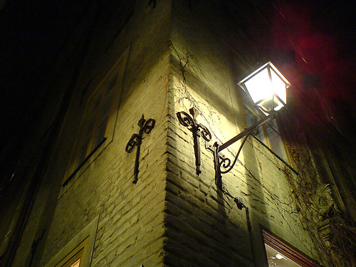 Lamp in Gamla Stan, Stockholm