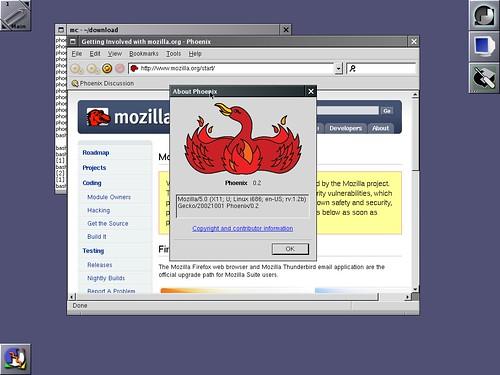 Phoenix 0.2 sous Slackware Linux 12.0