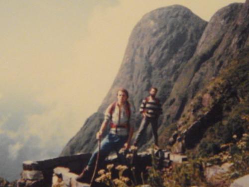Eu e o Cesar Barbado no Pico Paraná