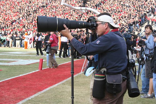 Sideline Photographer at uga GAME