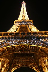 Eiffel Tower at night...