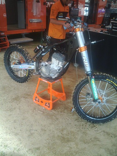 KTM Red Bull Bike Stripped