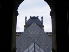 Pyramid through Arches