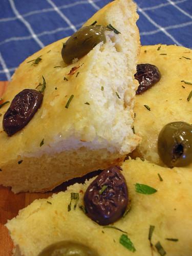 potato bread--focaccia