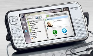 Skype for the Nokia Internet tablet