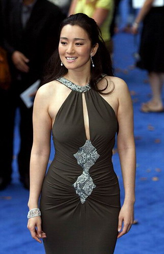 The Beautiful Gong Li