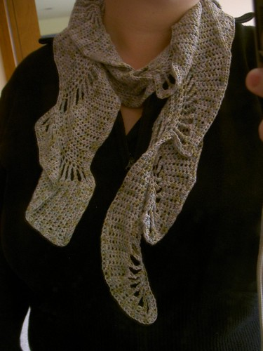 Yarn Is My Métier: FO: Boteh Scarf