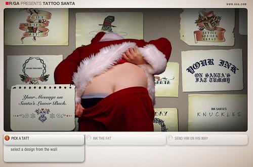 Tattoo Santa