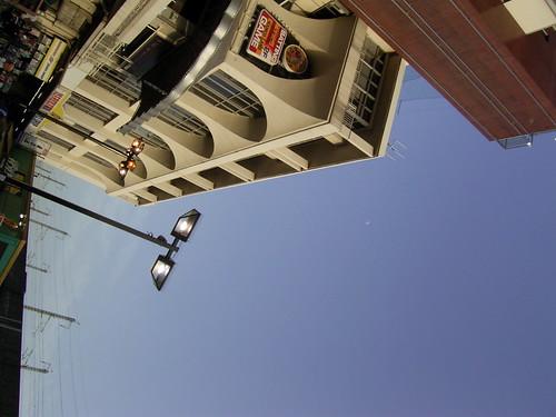 王子再訪11.王子の地べたから見上げる空は青かった。