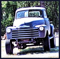 High Waters (John Stenberg) Tags: old fab chevrolet truck chevy trucks mywinner diamondclassphotographer flickrdiamond