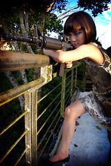 Femme Fatale (mezarc da diva) Tags: beauty asian kiss philippines band makeup fran manila guns ammo tagaytay pinoy superbmasterpiece iwasmadeforlovingyou mezarc mezarcdadiva genmaxx