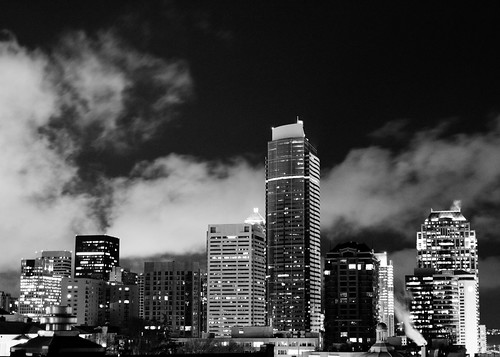 What evil lurks - Seattle by night