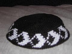 Diamond Kippa (oygurl3) Tags: crochet yarmulke kippot kippa jewishcrafts