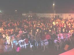 Público presente en el 9º Festival del Canto y la Familia