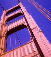 Golden Gate Bridge (AntyDiluvian) Tags: sanfrancisco bridge tower goldengatebridge cables goldengate marincounty suspensionbridge vistapoint