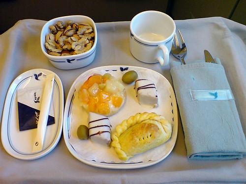 First class supper