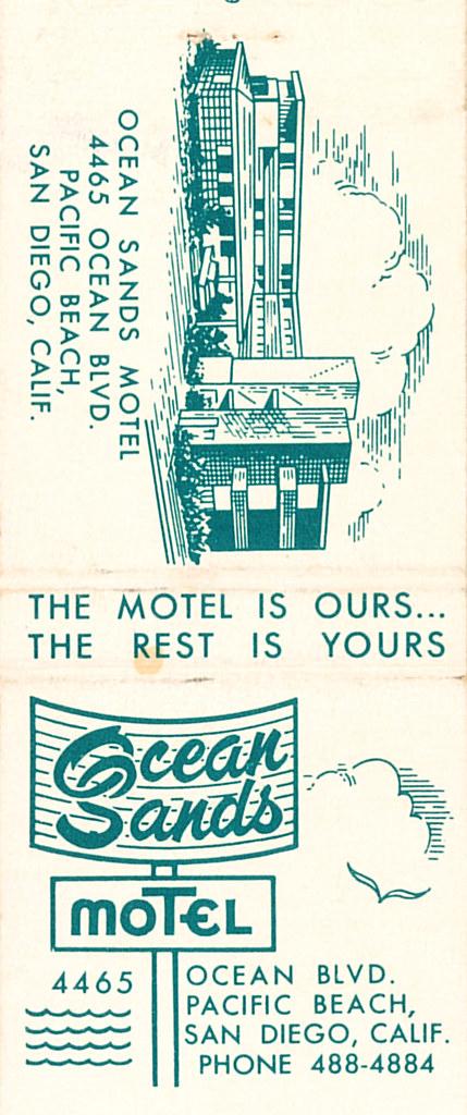 Ocean Sands Motel, San Diego, CA