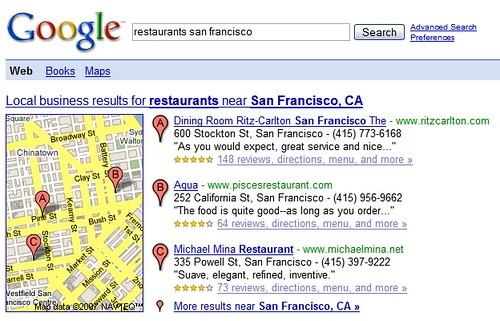 SF restaurants