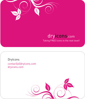 Dryicons Business Card Template by DryIcons