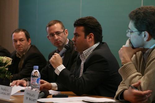 Journée Néthique 3, Vers une néthique des réseaux sociaux  ? : Vincent Ducrey, Christophe Grébert (politique, municipales et néthique), à l'Institut Pierre Mendès France