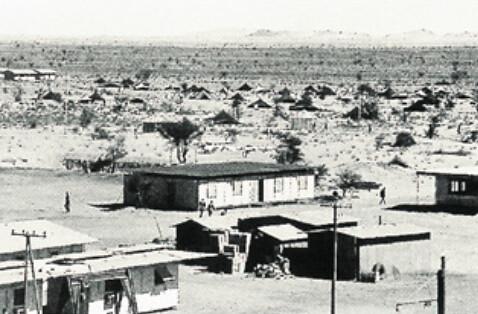 Baraquements de Zouérate