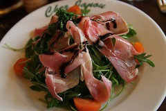 Salade de Roquette et Jambon (Pabo76) Tags: vacation food paris french lunch restaurant salad ham rocket salade roquette jambon     chezjanou