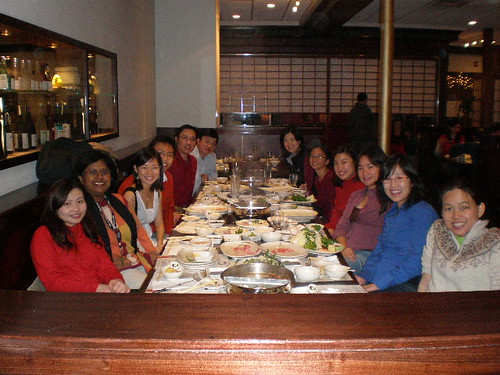 CNY Dinner 1