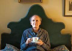 rose teacup (lesbru) Tags: portrait rose 50mm bedroom naturallight domestic teacup bedhead mywinners d40x lesleybruceportfolio
