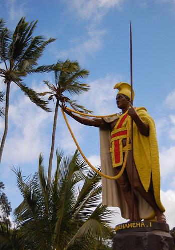 King Kamehameha Statue in Kapaau