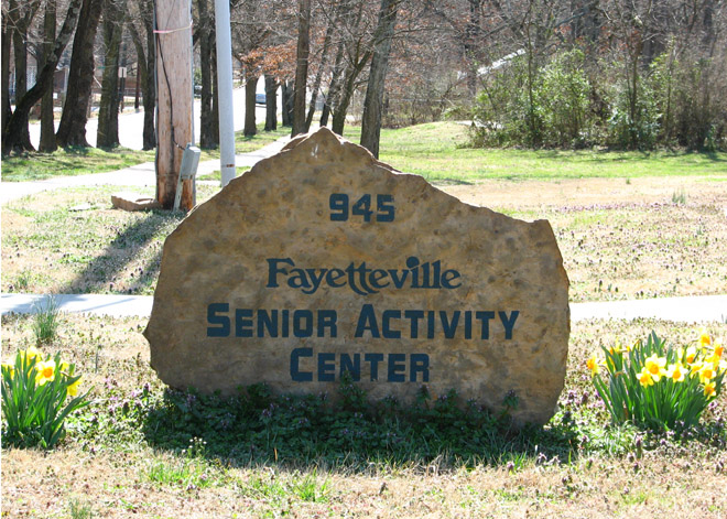 SeniorActivity Center in Fayetteville, Arkansas
