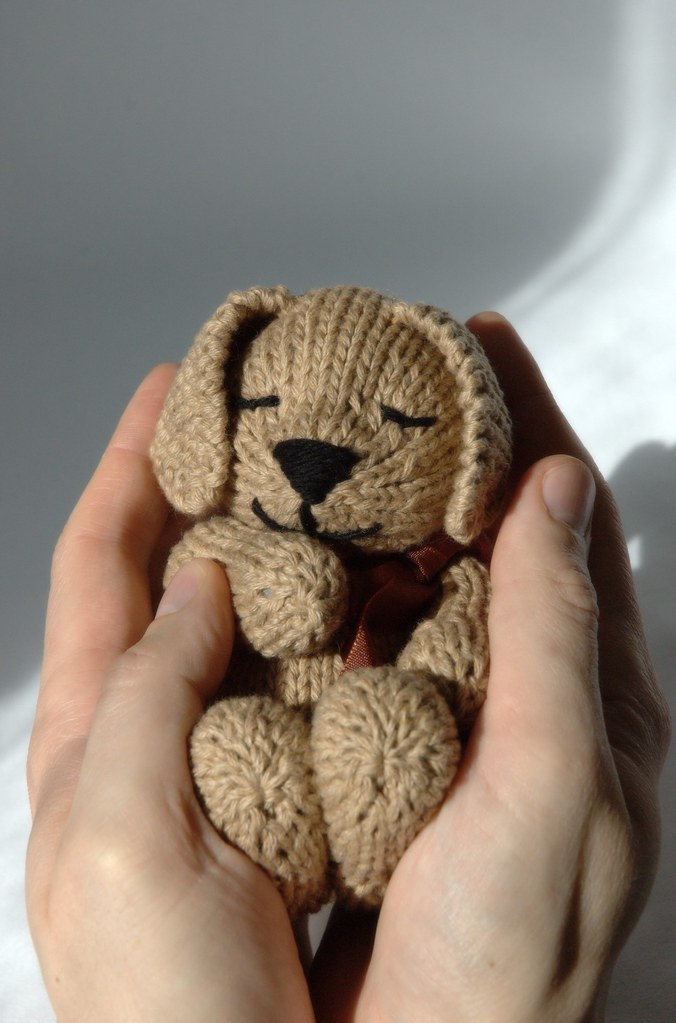 Free Knitting Pattern Toy Puppy : Fuzzy Thoughts: sleepy puppy