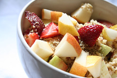 She makes me eat healthy :) (Gordana AM) Tags: breakfast morning cereal kashi pear apple strawberry diced walnuts crushed soy milk bowl light healthy wholesome closeup macro inspiredbybowhaus lepiafgeo supershot windsor ontario canada anawesomeshot studion yello amarillo zuto jaune solange yellow red rouge crveno crvena