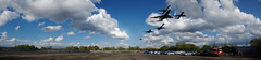 Welcome to Heathrow (sazztastical) Tags: sky panorama london clouds plane airplane landscape flying airport heathrow airplanes flight terminal landing final planes approach aeroplanes lhr photostitch panography flightpath cwd 2cwdrs 3cwdrs cwdrs cwd671 cwd67 cwdrs67 2cwdrs67 3cwdrs67