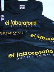 Camisetas de El Laboratorio Gastronómico