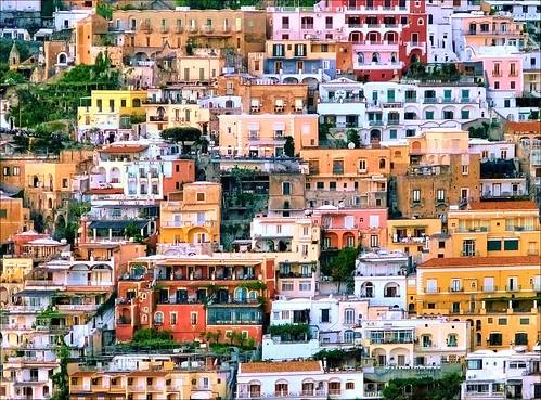 Positano Salerno Campania Italy. Campania - Italy