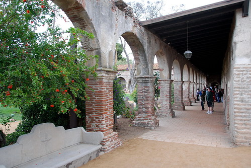 Mission San Juan Capistrano c.1776 by Michael Locke