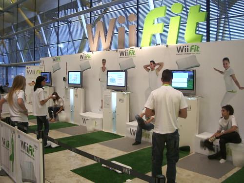 Wii Fit en el Aeropuerto de Barajas