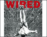 Una portada de Wired