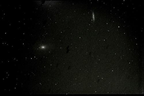 M81 10min54sec 11frames, dark, bias, iso 400, ED100Sf-post